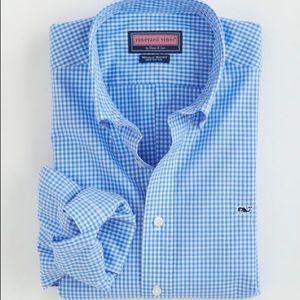 Vineyard Vines Men's The Whale Shirt Gingham M